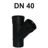 Silent-PP Abzweig DN 40