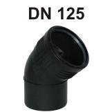 Silent-PP Bogen DN 125
