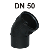 Silent-PP Bogen DN 50