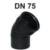 Silent-PP Bogen DN 75