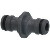 PVC Hydro-Fit 2-Wege-Schlauchkupplung