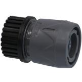 PVC Hydro-Fit Kupplung mit Wasserstop IG