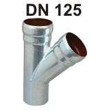 Loro-X Stahl-Abflusssystem Abzweig DN 125