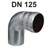 Loro-X Stahl-Abflusssystem Bogen DN 125