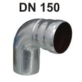 Loro-X Stahl-Abflusssystem Bogen DN 150