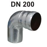 Loro-X Stahl-Abflusssystem Bogen DN 200