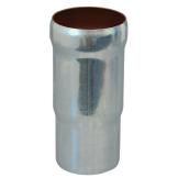 Loro-X Stahl-Abflusssystem Langmuffe