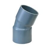 PVC Bogen 22° aus Rohr