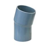 PVC Bogen 15° aus Rohr