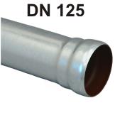 Loro-X Stahl-Abflusssystem Rohr mit Muffe DN 125