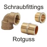 Schraubfittinge Rotguss