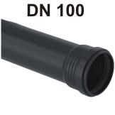 Silent-Pro Rohr mit Muffe DN 100