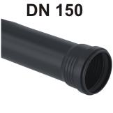 Silent-Pro Rohr mit Muffe DN 150