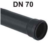 Silent-Pro Rohr mit Muffe DN 70