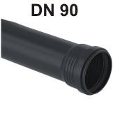 Silent-Pro Rohr mit Muffe DN 90