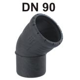 Silent-Pro Bogen DN 90