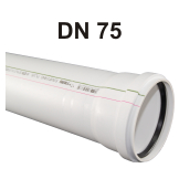 Raupiano Abflussrohr DN 75