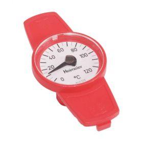 """HEIMEIER Thermometer für Globo Kugelhahn DN 10 bis DN 32, Farbe """"rot"""""""