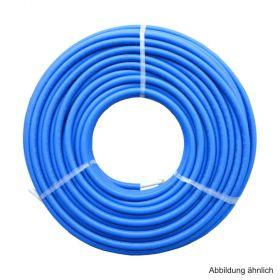 Uponor Uni Pipe PLUS Mehrschichtverbundrohr weiß im Schutzrohr 16x2 - 25/20 blau im Ring 75 m