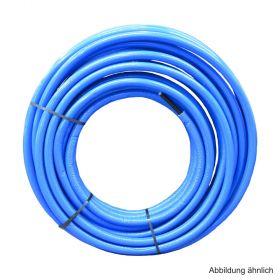 Geberit Mepla Systemrohr ML 20 x 2,5 mm 13 mm rund vorgedämmt blau im Ring 50 m