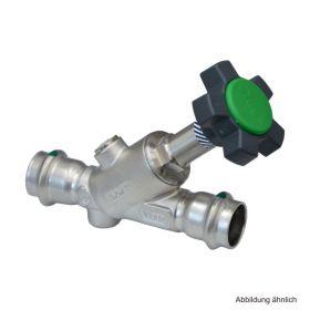 Viega Easytop Inox-Schrägsitzventil (Freistromventil) Serie 2337.5, DN 15, 15 mm