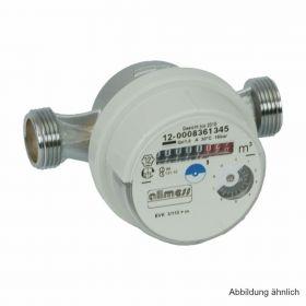 """Allmess Aufputz-Wasserzähler Universal EVK 3/80-V TU6 +m (kalt bis 30°C), Gehäuse 3/4"""" AG"""