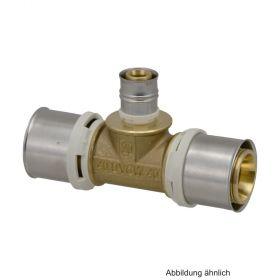 Alpex L T-Stück, 75-75-75 mm, Messing