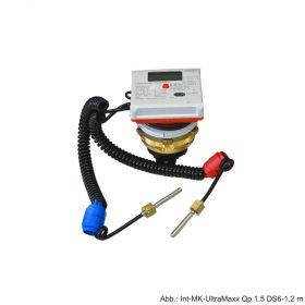 Allmess Ultraschall Mehrbereichs-Messkapselkombizähler Int-MK UltraMaXX Qp 1,5 E DS6-1,7m Kombi