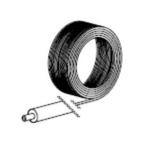 Alpex F 50 PROFI Mehrschichtverbundrohr im Ring 50 m mit 9 mm Wärmedämmung, 16 x 2 mm
