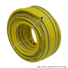 PVC Torsino Schlauch L: 25 m, Innen Ø 12,5 mm, 10 bar, Gelb