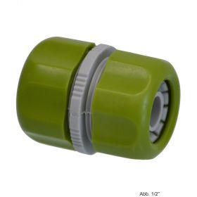 """PVC-U Hydro-Fit Schlauchkupplung, 1/2"""" Klemm, Grün/Grau"""