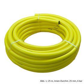 PVC-Schlauch, Typ Megaflex, L: 25 m, Innen Ø 25 mm, 6 bar, Gelb