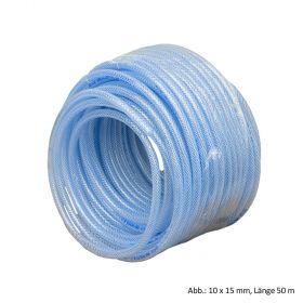 PVC Luftschlauch L: 50 m, Innen Ø 4 mm, 24 bar, Transparent