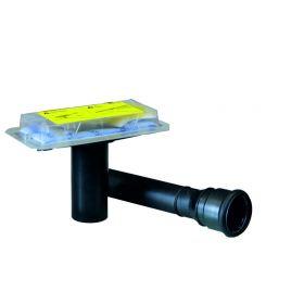 Rohbauset zu CleanLine Duschrinnen stockwerksdurchdringende Installation, 154153001