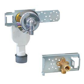 Geberit GIS Montageelement für Wasch-/Geschirrspülmaschinen, zweiteilig