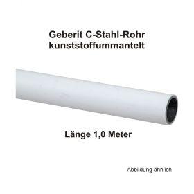 Geberit Mapress C-Stahl Rohr, kunststoffummantelt, 1,00 m Stange, 15 x 1,2 mm