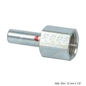 """Geberit Mapress C-Stahl Übergang IG mit Einschubende, 12mm x 3/8"""""""