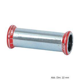 Geberit Mapress C-Stahl Schiebemuffe, 12 mm
