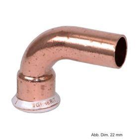 Geberit Mapress Kupfer Bogen 90° I-A, 12 mm