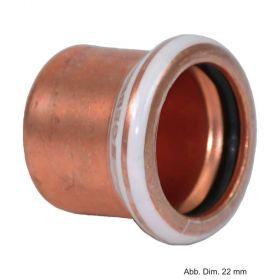 Geberit Mapress Kupfer Kappe, 12 mm