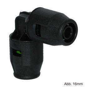 Geberit PushFit Winkel 16mm 90° PVDF