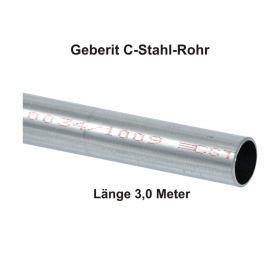 Geberit Mapress C-Stahl Rohr, außen verzinkt, 3,0 m Stange, 12 x 1,2 mm