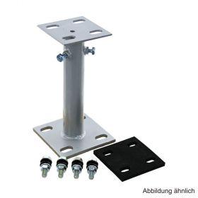 Standkonsole 120/80 höhenverstellbar f. Heizungsverteiler 120/80, verzinkt