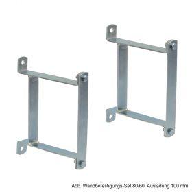 Wandbefestigungs-Set 80/80 für hydraulische Weiche 80/80