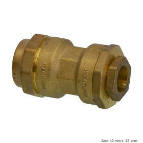 Isiflo Verbindungsstück Reduktion, 25 mm x 16 mm