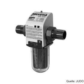 "JUDO HELVETIA Kerzenfilter, MHF 1/2"", MW 0,10 mm, Außengewinde, 8080018"