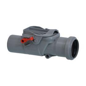 Kessel Staufix Rückstaudoppelverschluss DN 50 für freiliegende Abwasserleitung, 73050