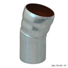 Loro-X-Stahl-Abflusssystem Bogen, DN 100-15°