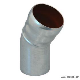 Loro-X-Stahl-Abflusssystem Bogen, DN 80-30°