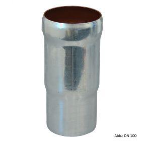 Loro-X-Stahl-Abflusssystem Langmuffe, DN 40